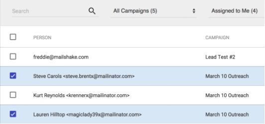 Use Mailshake to hack follow-ups