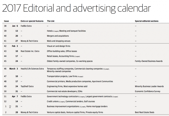 ine up your content with what that publication is scheduled to write about.