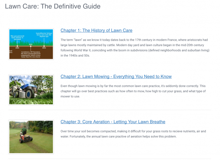 guide to lawn care